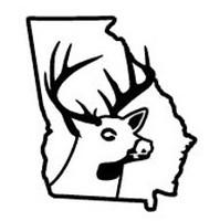 Georgia State Deer Decal