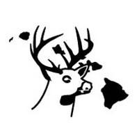 Hawaii State Deer Decal