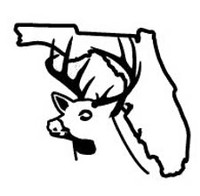 Florida State Deer Decal