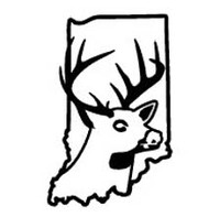 Indiana State Deer Decal