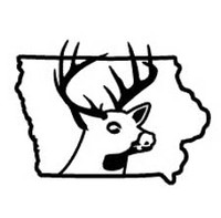 Iowa State Deer Decal