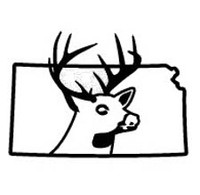 Kansas State Deer Decal