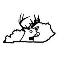 Kentucky State Deer Decal