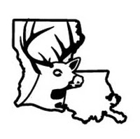 Louisiana State Deer Decal