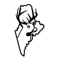 Maine State Deer Decal