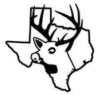 Texas State Deer Decal