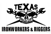 Texas Ironworkers and Riggers Decal
