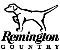 Remington Hunting Dog Decal