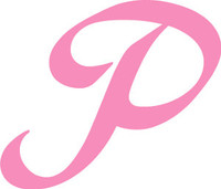 The Pink P Decal