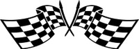 Checkered Flag Decal #2