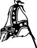 Dixie Flag Decal