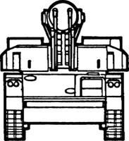 Army Tank Decal