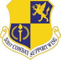 USAF 501st Combat Support Wing