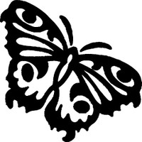Beautiful Butterfly Decal