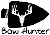 Bow Hunter Arrowhead Decal
