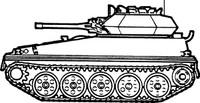 Army Tank Sticker