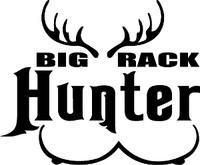 Big Rack Hunter Decal