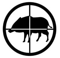 Hog Hunting Decal