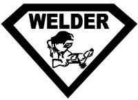 Super Welder Decal