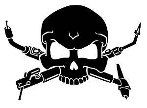 Welder Skull Decal