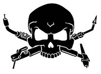 Welder Skull Decal
