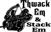 Thwack Em & Stack Em Hunting Decal