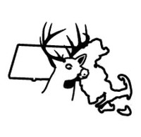 Massachusetts State Deer Decal