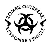 Zombie Outbreak Response Vehicle Decal 1