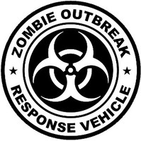 Zombie Outbreak Response Vehicle Decal 2