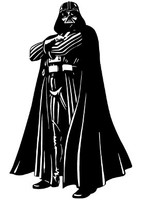 Darth Vader Standing Decal