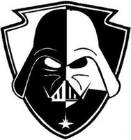 Darth Vader Shield Decal