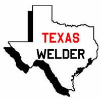 Texas Welder Sticker