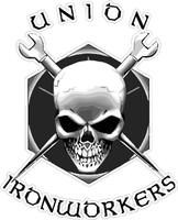 Union Ironworkers Sticker
