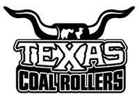 Texas Longhorn Coal Rollers Decal