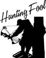 Bow Hunting Fool Decal