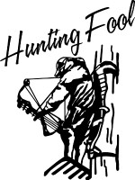 Bow Hunting Fool Decal 1