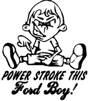 Power Stroke This Ford Boy Decal