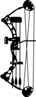 Compound Bow Hunting Decal