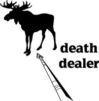 Death Dealer Moose Hunting Decal
