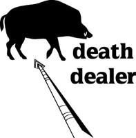 Death Dealer Hog Hunting Decal