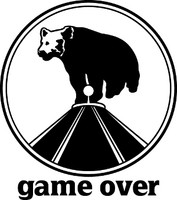 Game Over Bear Hunting Decal 1