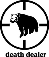 Death Dealer Bear Hunting Decal