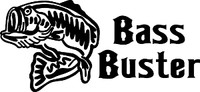 Bass Buster Fishing Decal