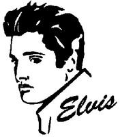 Elvis Presley Decal