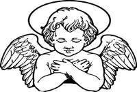 Baby Angel Sticker