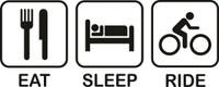Eat Sleep Cycle Decal