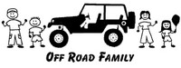 Off Road Family Decals