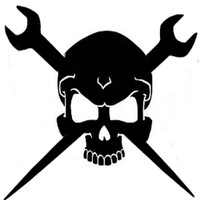 Ironworkers Skull Decal