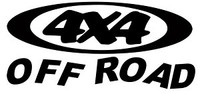 4 x 4 Off Road Decal #1
