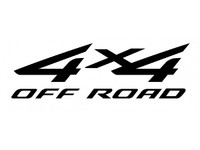 4 x 4 Off Road Decal
